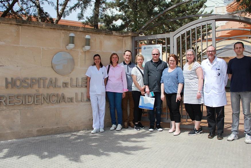 El Complex Sanitari Llevant formará a alumnos del instituto Turkum de Finlandia dentro del programa ERASMUS